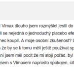 vimax zkušenosti