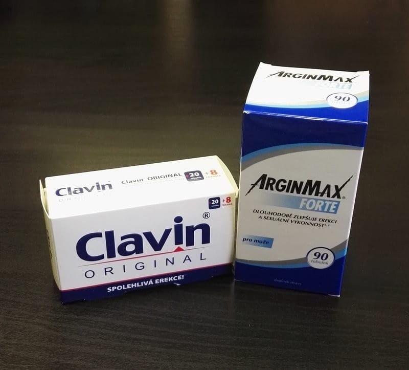 Clavin Original vs. ArginMax Forte