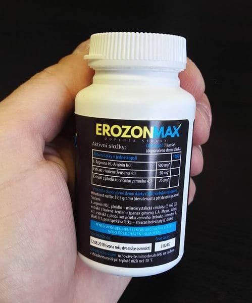 Erozon Max složení