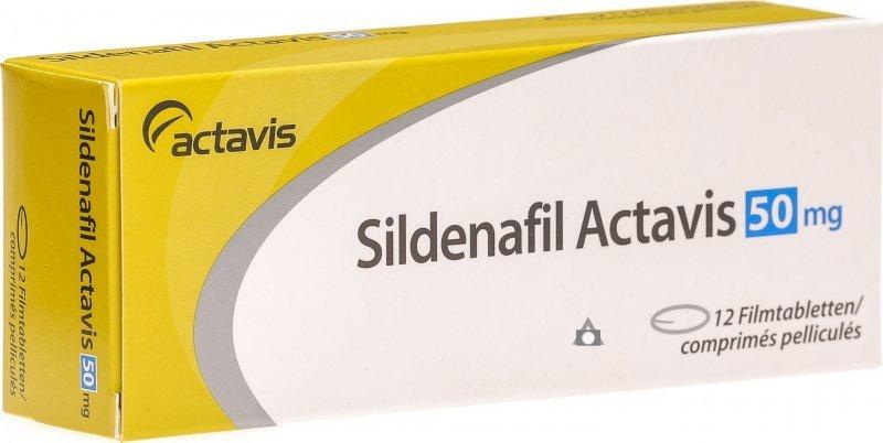generická viagra sildenafil actavis