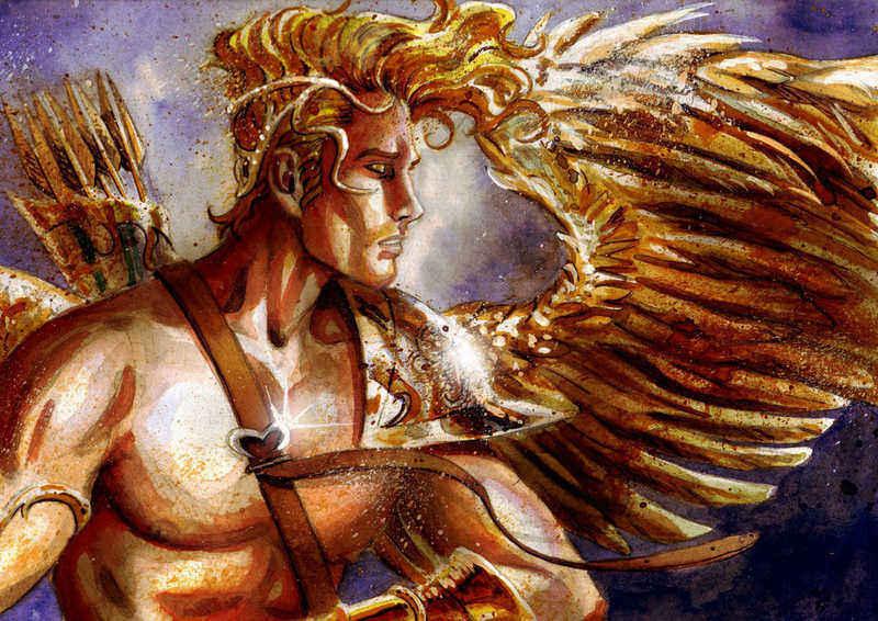 Bůh lásky Eros