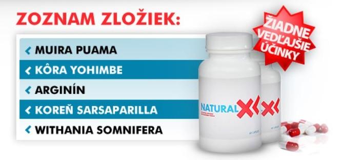složení Natural XL