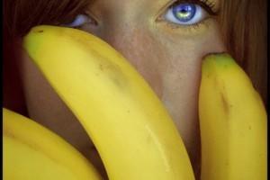 slečna s banány