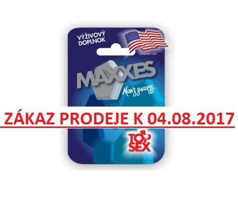 zákaz prodeje tablet Maxxes