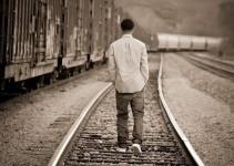 osamělý kluk
