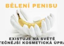 bělení penisu