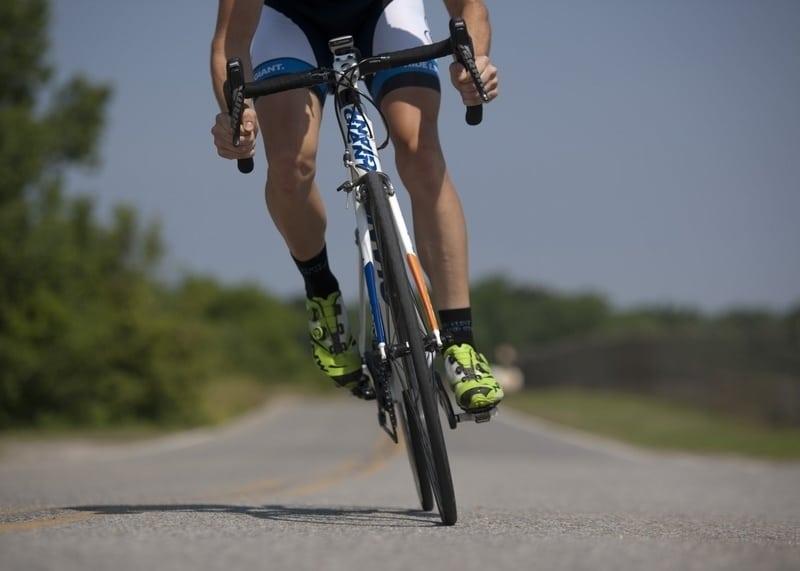 cyklista a potence