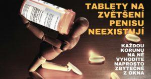 tablety na zvětšení penisu