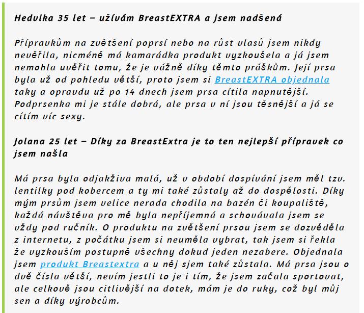 breastextra+ názory