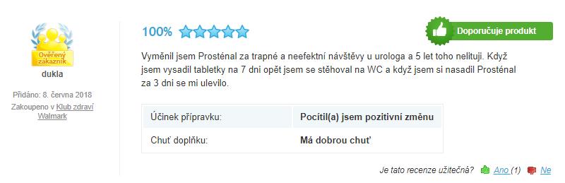 recenze prostenal forte