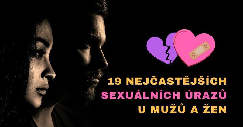sexuální úrazy u mužů a žen