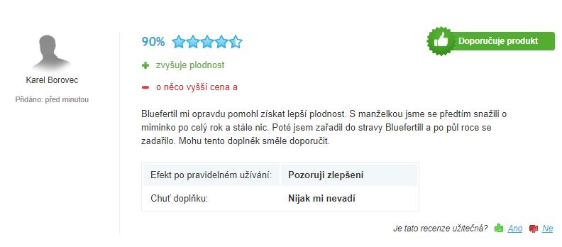 bluefertil hodnocení