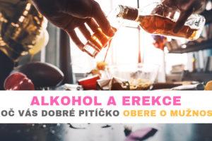 alkohol a erekce
