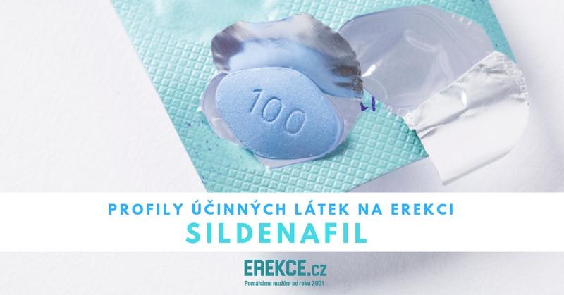 profil léčiva sildenafil