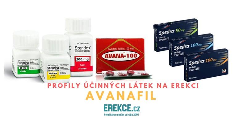 profily léků na erekci avanafil