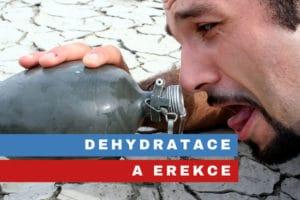 dehydratace a erekce