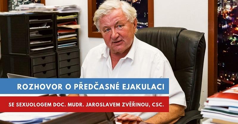 Rozhovor s se sexuologem Jaroslavem Zvěřinou