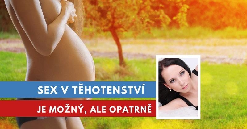sex v těhotenství