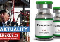 melanotan nežádoucí účinky