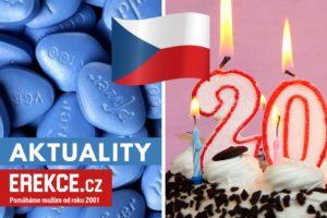 20 let viagry v Česku