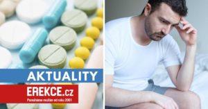 léky zhoršující erekci