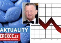 pokles pfizeru na trhu