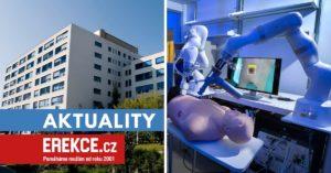Robotická chirurgie v Budějovicích