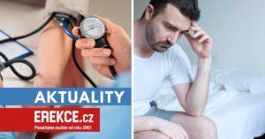 vysoký tlak, libido a erekce