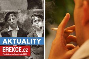 erekce a kouření