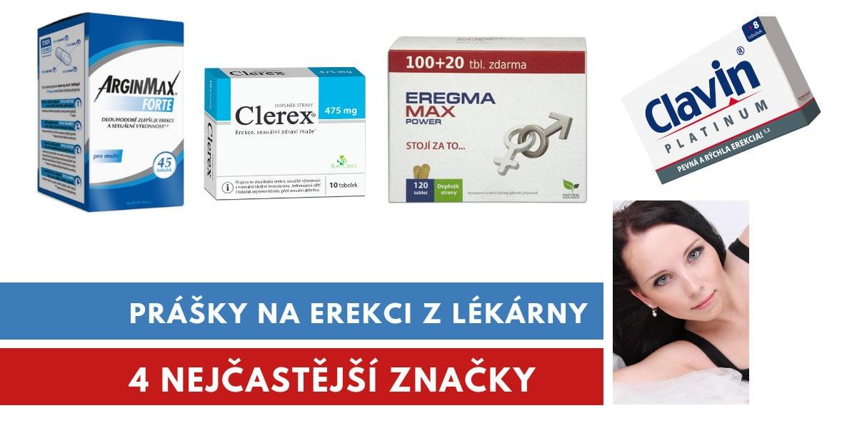 prášky na erekci z lékárny