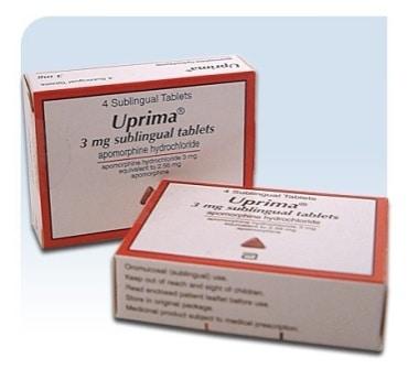 Uprima - lék na erektilní dysfunkci