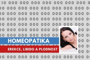 homeopatika, erekce, plodnost a libido