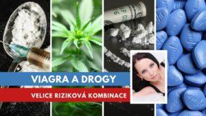 Viagra a marihuana, kokain, pervitin a heroin
