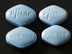falešná a originální Viagra