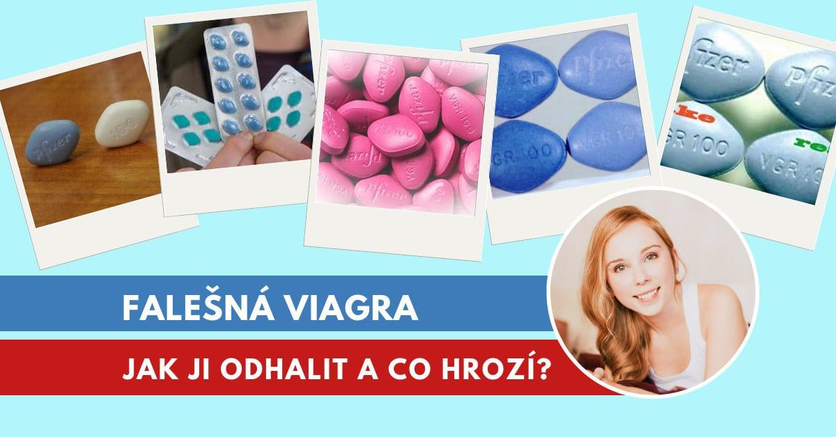 jak poznat falešnou Viagru?