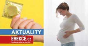 nechráněný sex v těhotenství