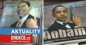 Barack Obama jako tvář falešné Viagry