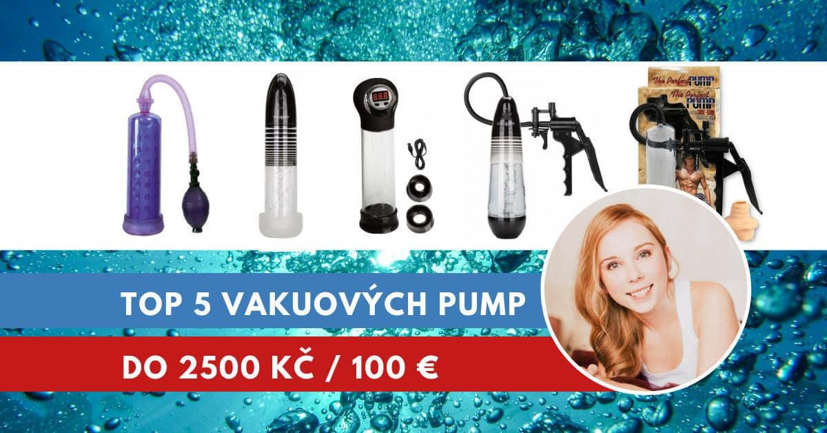 vakuová pumpa na penis do 2500 Kč
