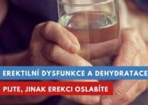 dehydratace a erektilní dysfunkce