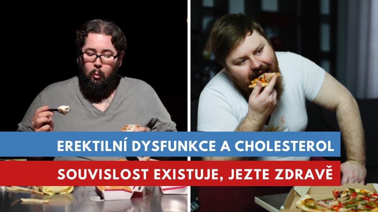 erektilní dysfunkce a cholesterol
