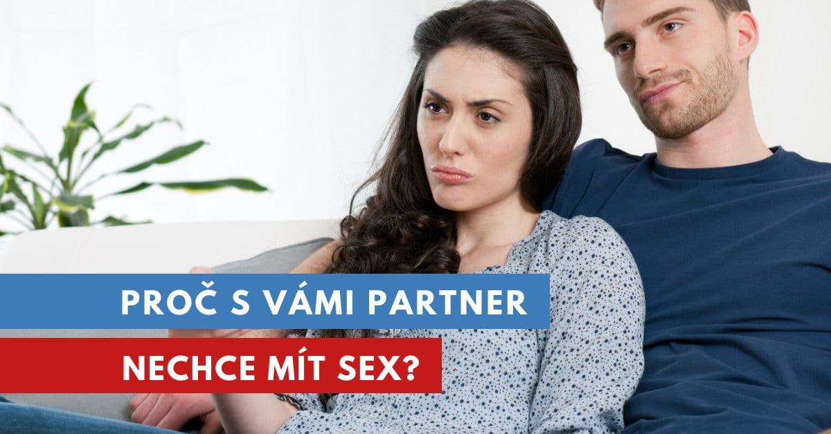 proč partner nechce sex?