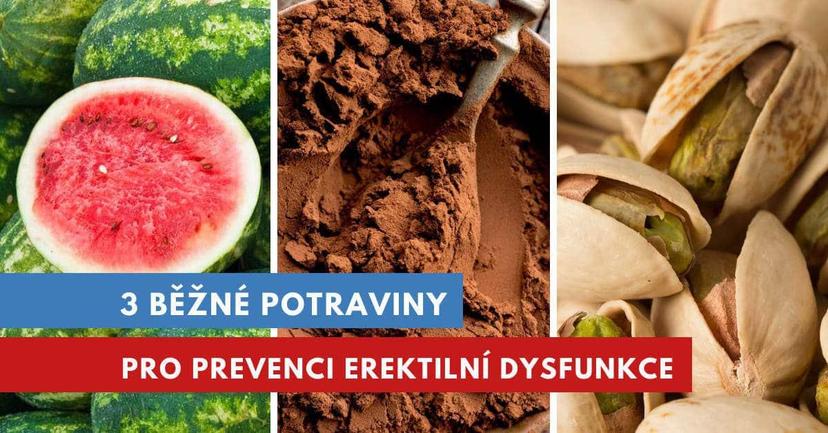 léčba erektilní dysfunkce stravou