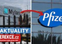 Pfizer prebere firmu Mylan