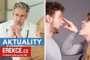 ženy posílají muže na sexuologii