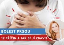 bolest prsou