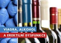 viagra, erektilní dysfunkce a alkohol