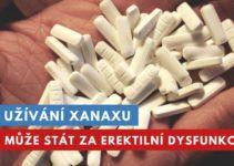 xanax a erektilní dysfunkce