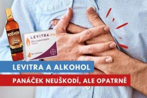 levitra a alkohol