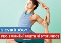 jóga na erektilní dysfunkci