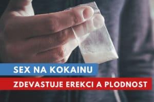 kokain a potence